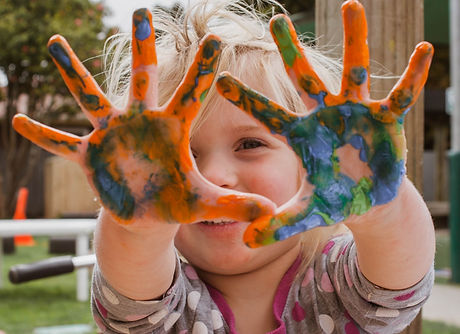 play therapy for young children zero to five with art image