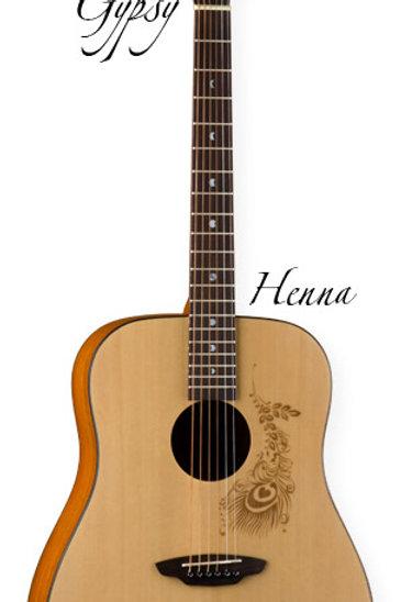 Luna Gypsy Hena Dreadnought Acoustic
