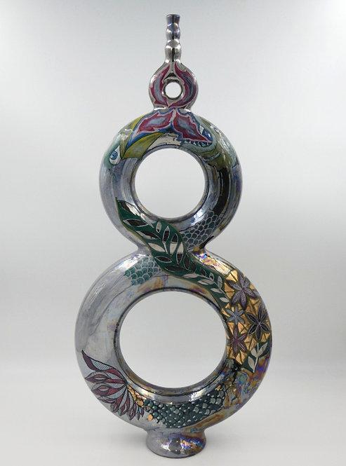 Vaso Bottiglia ad anelli