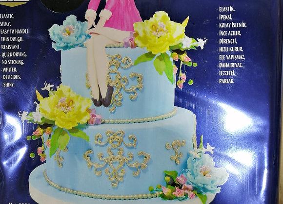 Fondan masa za oblaganje torti CRNA