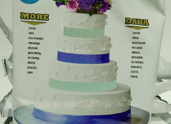 Fondan masa za oblaganje torti PLAVA