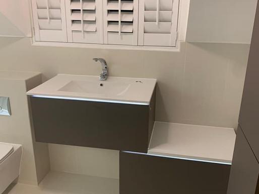 A truly modern bathroom