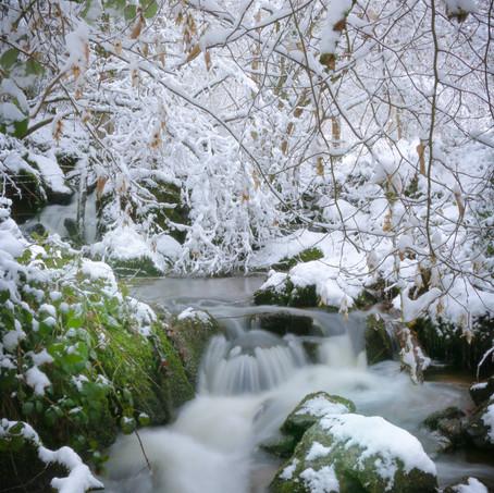 ruisseau neige