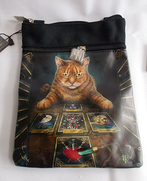 Lisa Parker The Reader Cat Shoulder Bag