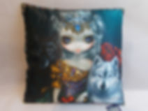Silky Soft Cushions by Jasmine Becket-Griffith