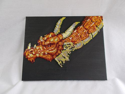 Huge Dragon Head Hama Bead