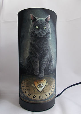Lisa Parker His Masters Voice Cat Lamp Ouija