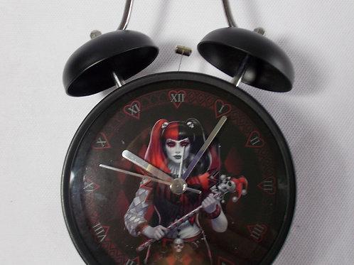 """Dark Jester"" Alarm Clock"