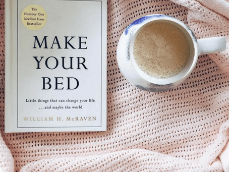 Book recommendation - Make your bed by William H. McRaven