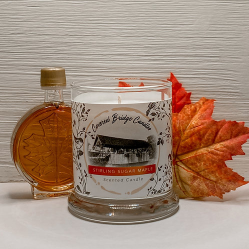 STIRLING SUGAR MAPLE Soy Wax Candle 8 oz