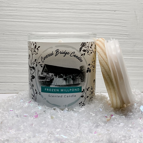 FROZEN MILLPOND Soy Wax Candle 8 oz