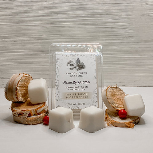 White Birch & Cranberry Wax Melts