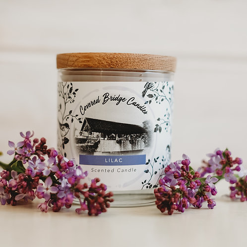 LILAC Soy Wax Candle 8 oz