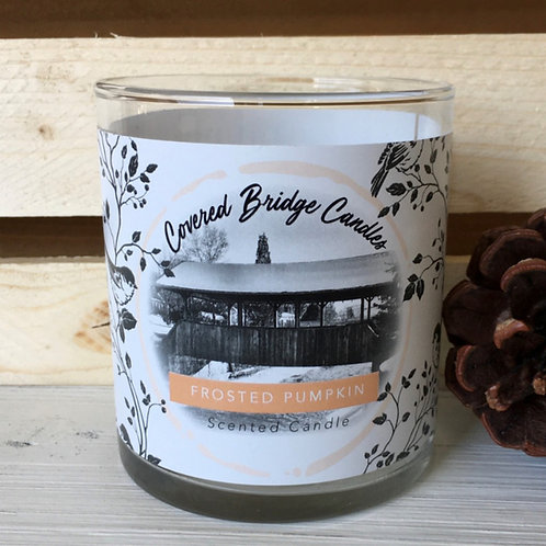 FROSTED PUMPKIN Soy Wax Candle 8 oz