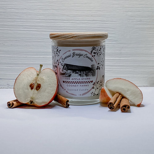 THE APPLE STORE Soy Wax Candle 8 oz