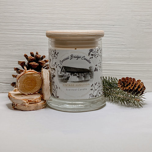 VINTAGE JUNCTION Soy Wax Candle 8 oz