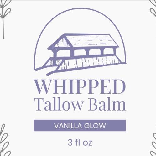 VANILLA GLOW Tallow Balm 3 oz