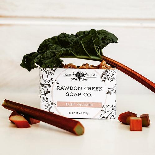 RUBY RHUBARB Soap Bar