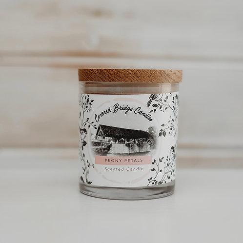 PEONY PETALS Soy Wax Candle 8 oz