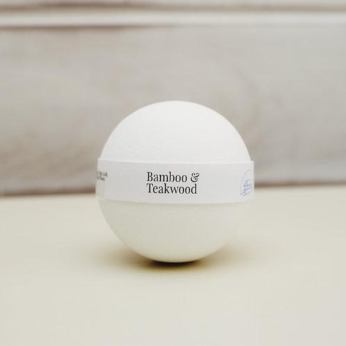 BAMBOO & TEAKWOOD Bath Bomb 200g