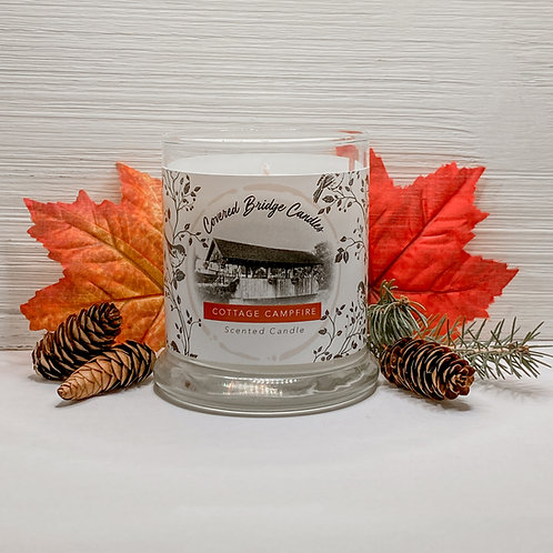 COTTAGE CAMPFIRE Soy Wax Candle 8 oz