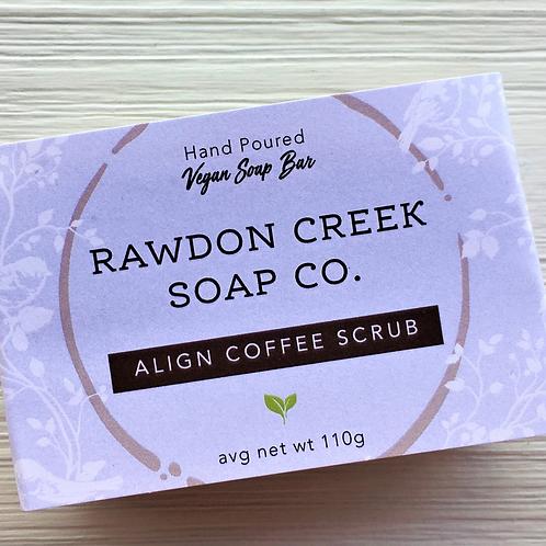 Align Coffee Scrub - Vegan Soap