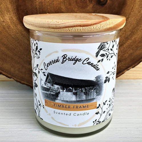TIMBER FRAME Soy Wax Candle 8 oz