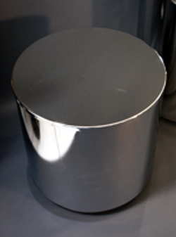 Glass top drum base