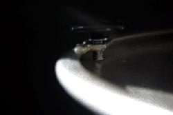 Optional adjustable glides