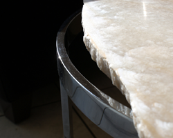 For glass, marble or wood tops