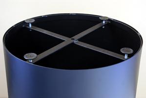 Drum base adjustable glides