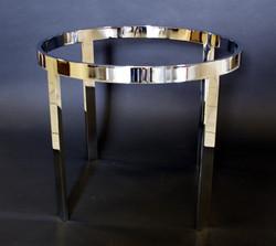 1850 bar stock round table base