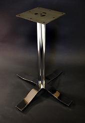 Disk base, pedestal table base