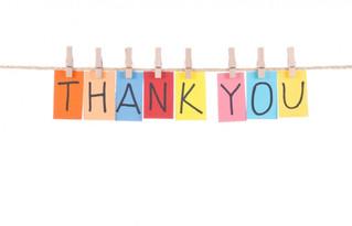 Thank you to our outgoing portfolio holders!