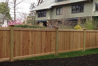 diy wooden fences