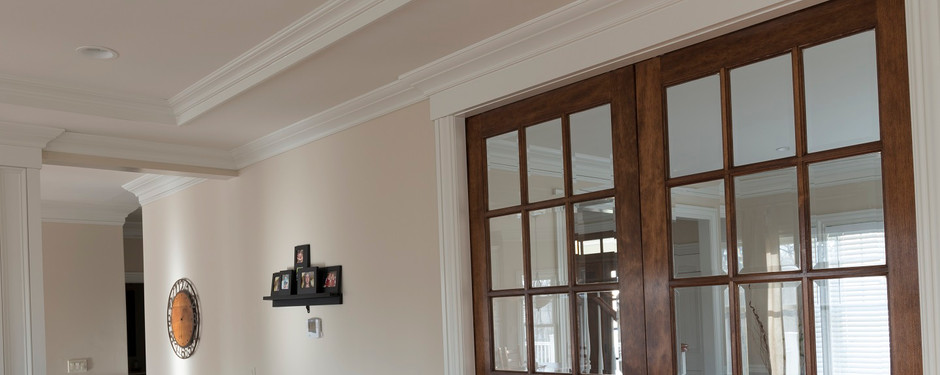Stunning living room by home remodelers in Ridgewood, NJ