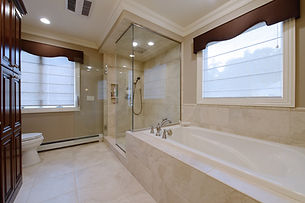 Stunning bathroom by home remodelers in North Caldwell, NJ