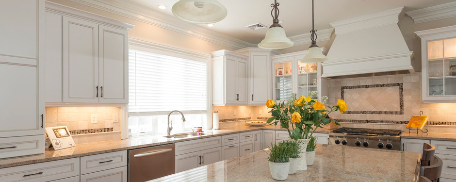 Outstanding kitchen by custom home builders in North Caldwell, NJ