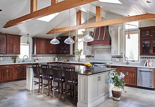 Amazing kitchen by home remodelers in Mountain Lakes, NJ