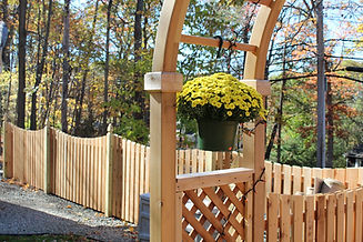 how to build a wooden fence