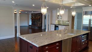 Beautiful kitchen by home remodelers in Kinnelon, NJ