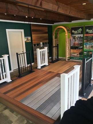 Wood, vinyl, aluminum railing Morris County NJ