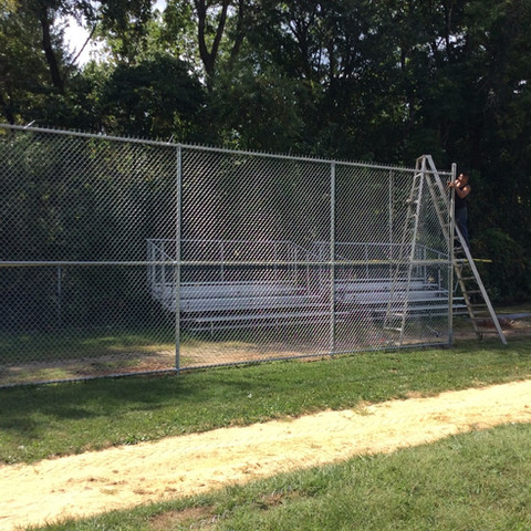 Sports Court chain link in Saddle River NJ