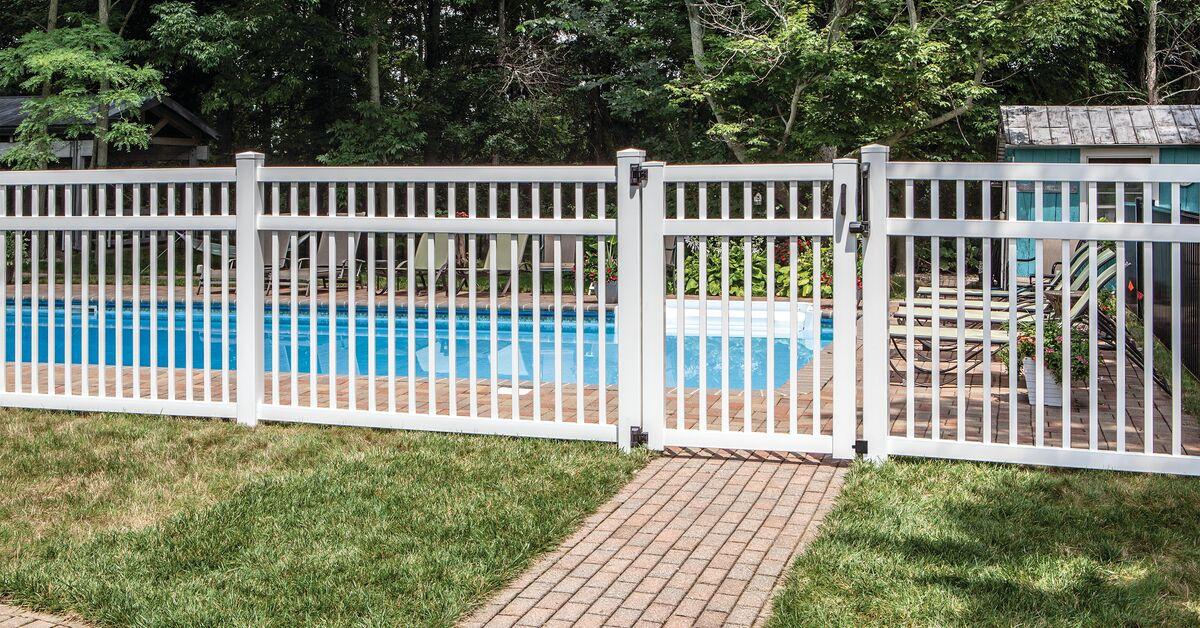 Pool - vinyl fence Mountain Lakes, NJ