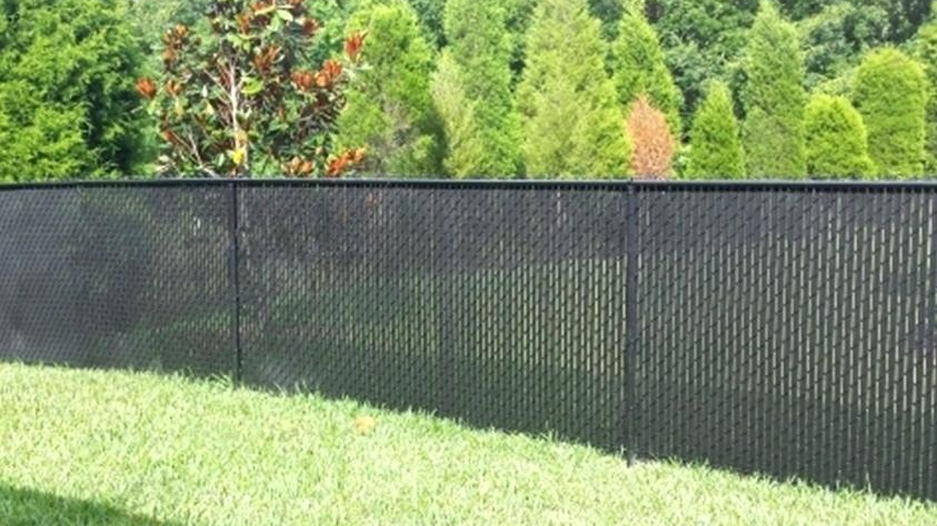 Chain Link with Privacy Slats Residentia