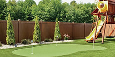Vinyl fence installation in Mendham, NJ