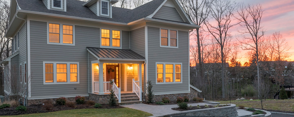 Finished house by home remodelers in North Caldwell, NJ