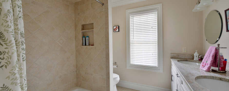 Details of bathroom by general contractors near me in Upper Saddle River, NJ