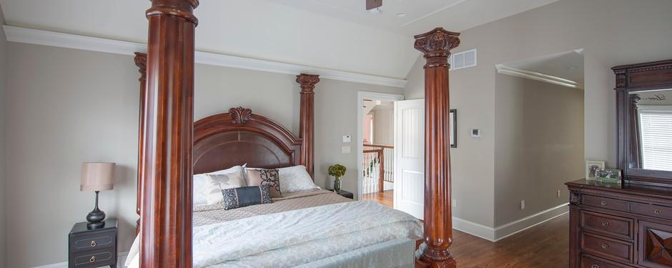 Bedroom by home remodelers in Kinnelon, NJ