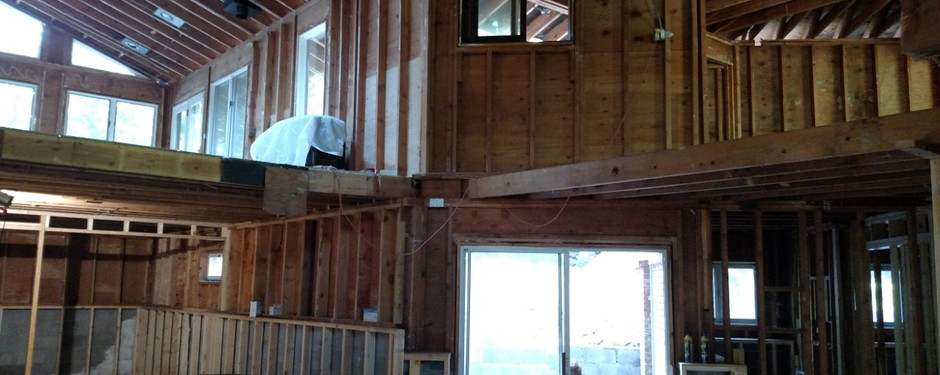 Still unfinished home by general contractors near me in North Caldwell, NJ